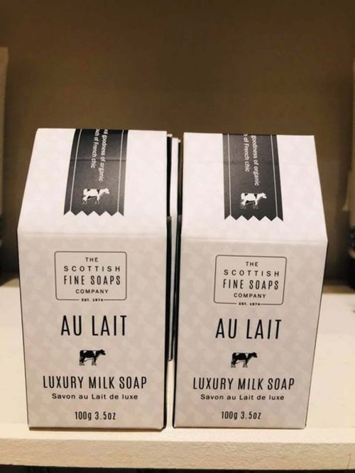 AU LAIT LUXURY MILK SOAP JAIL DORNOCH