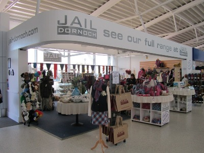 Jail Dornoch at Inverness Airport