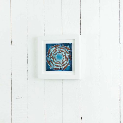 med art frame cornish plchards jail dornoch