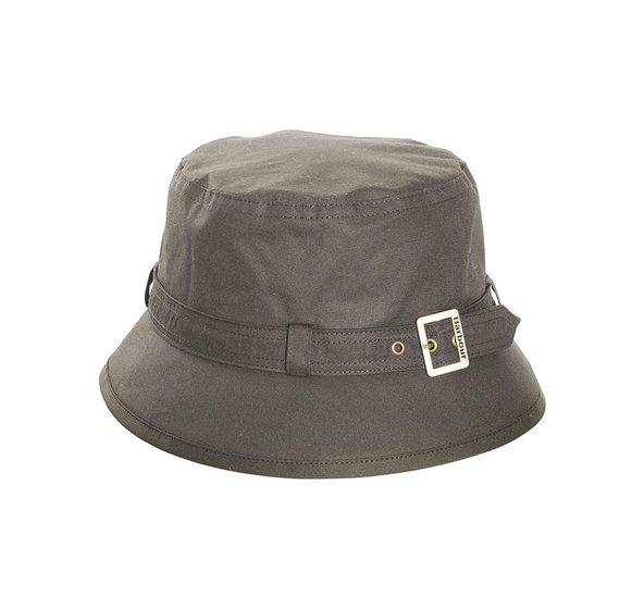 kelso wax belted hat olive jail dornoch
