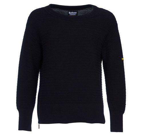 goodwood knit jumper ladies barbour jail dornoch