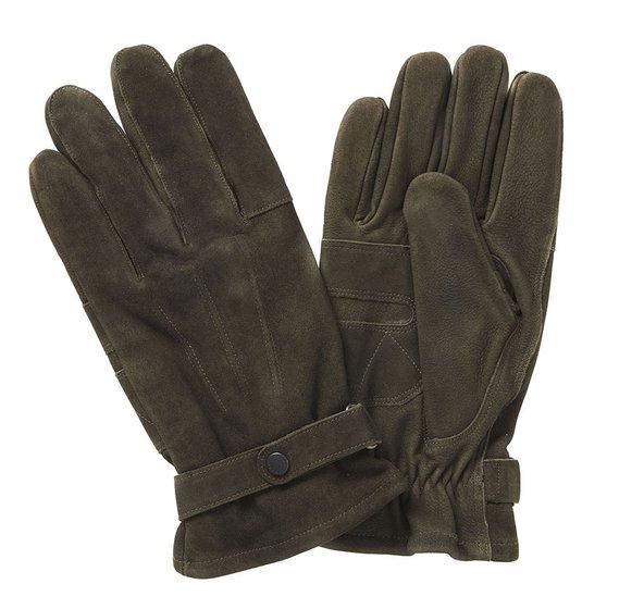 olive leather thinsulate gloves jail dornoch