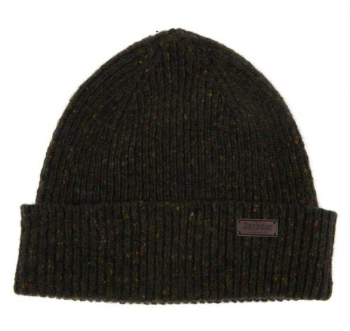 barbour beanie hat dark green jail dornoch