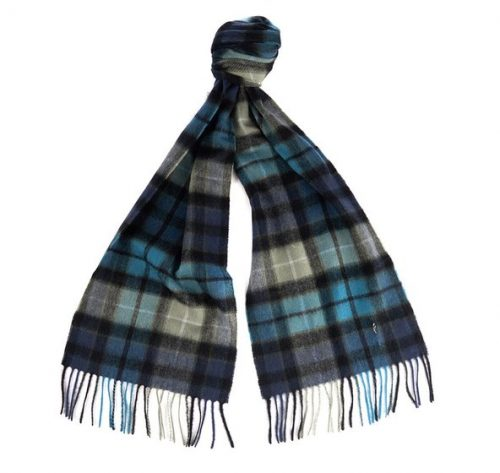 NEW CHECK TARTAN SCARF JAIL DORNOCH