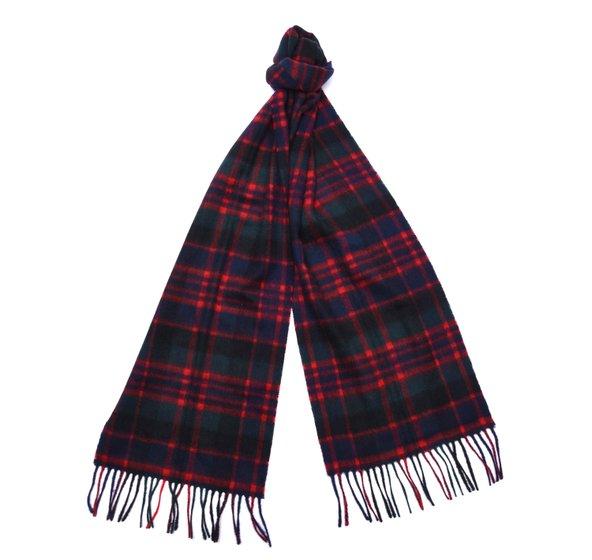 macdonald new check tartan scarf jail dornoch