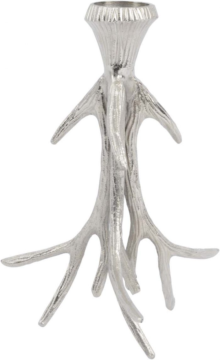 pair of antler candle sticks jail dornoch