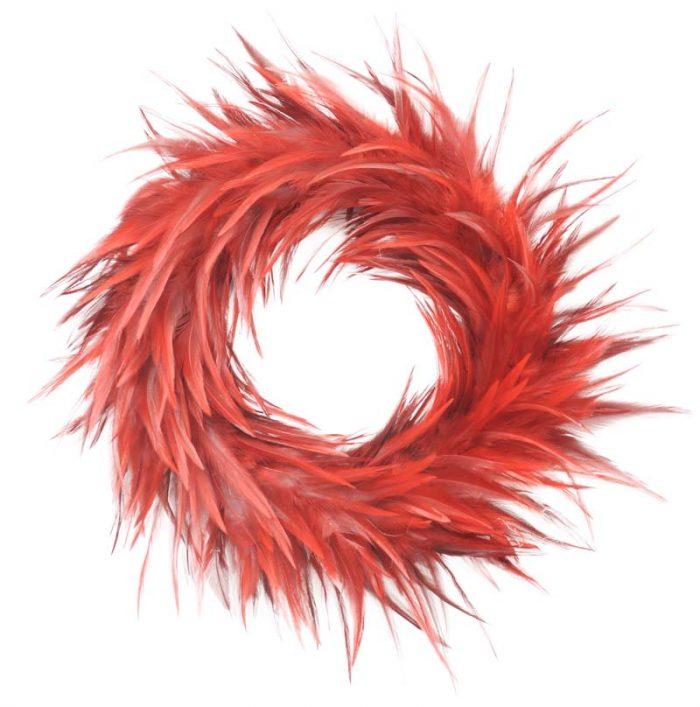 feather wreath red jail dornoch