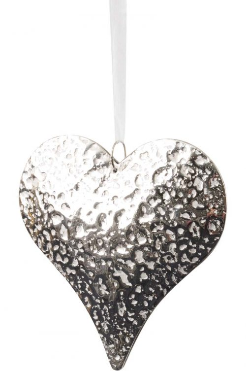 SILVER HANGING HEART JAIL DORNOCH