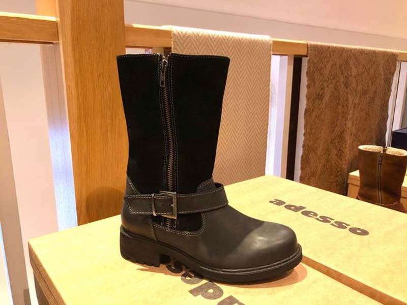 jess calf boot black jail dornoch