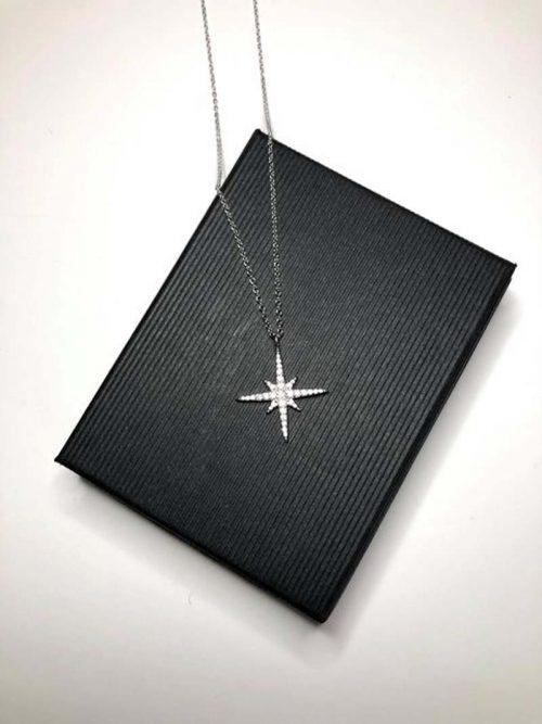north star silver necklace jail dornoch