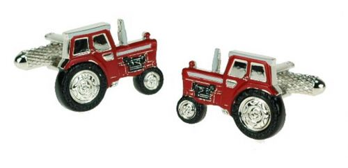 tractor red cufflinks jail dornoch