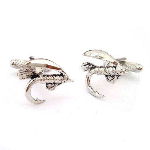 fly fishing cufflinks jail dornoch