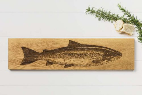 LARGE SALMON SERVING PLATTER JAIL DORNOCH