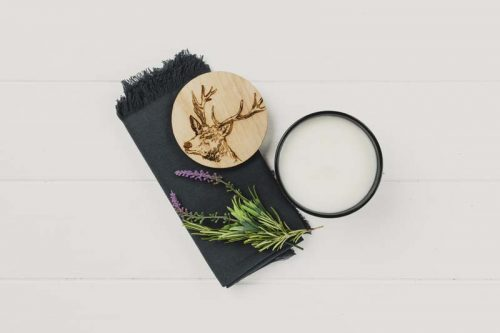 stag scented candle jail dornoch