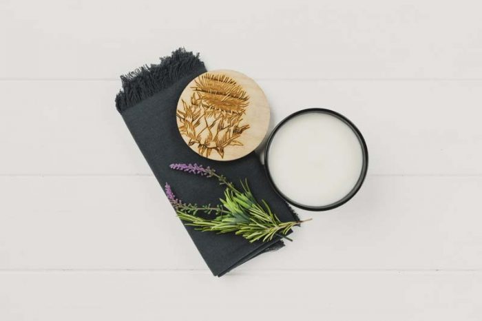 THISTLE SCENTED CANDLE JAIL DORNOCH