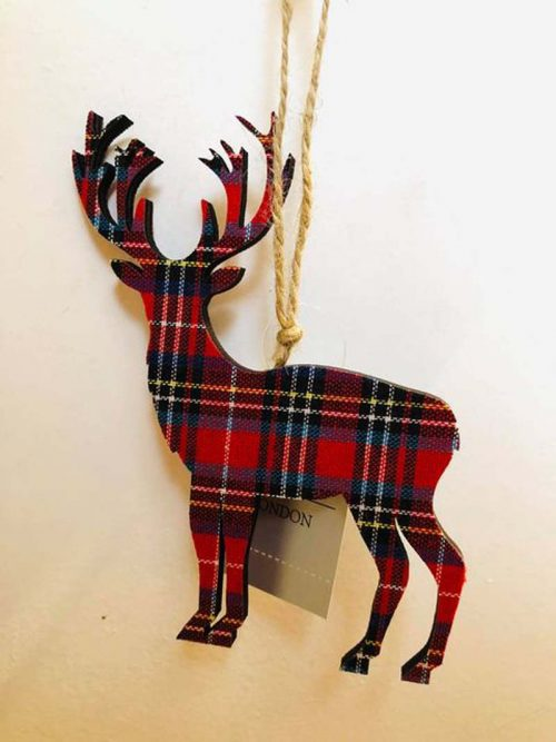 scottish stag tartan dec jail dornoch