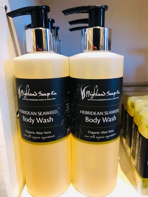 HEBRIDEAN BODY WASH HIGHLAND SOAP JAIL DORNOCH