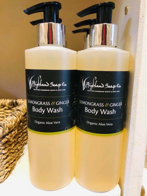 LEMON GRASS GINGER BODY WASH JAIL DORNOCH