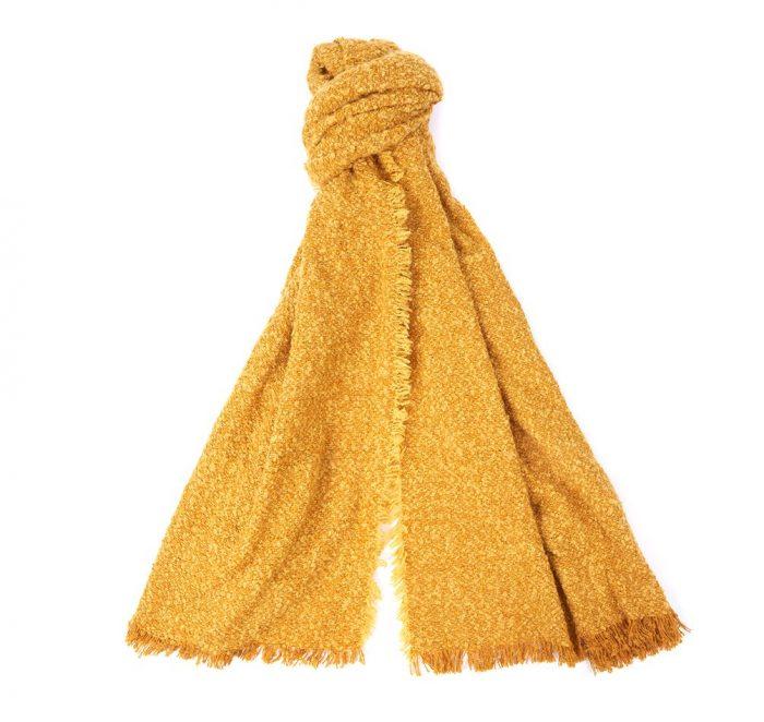 barbour megan wrap yellow jail dornoch
