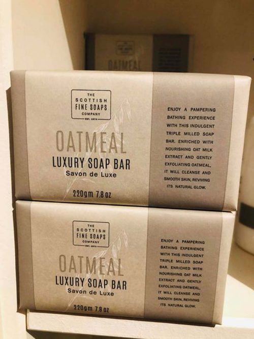 oatmeal soap bar jail dornoch