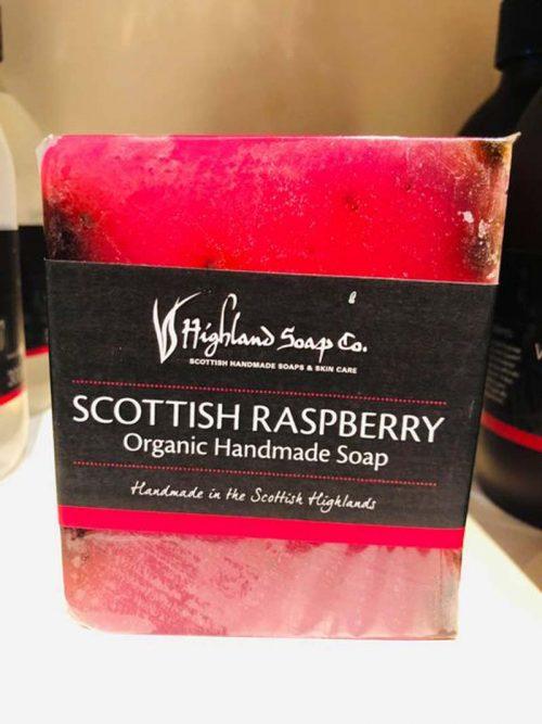 SCOTTISH RASPBERRY SOAP BAR JAIL DORNOCH