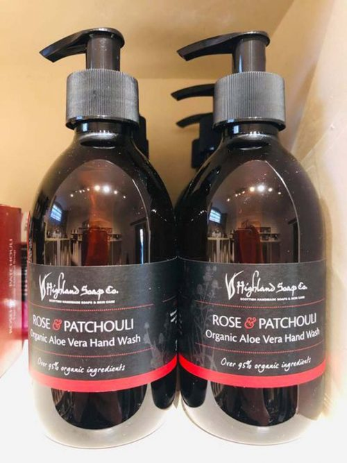 ROSE AND PATCHOULI HANDWASH JAIL DORNOCH