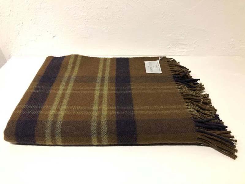 simple tartan wool throw jail dornoch