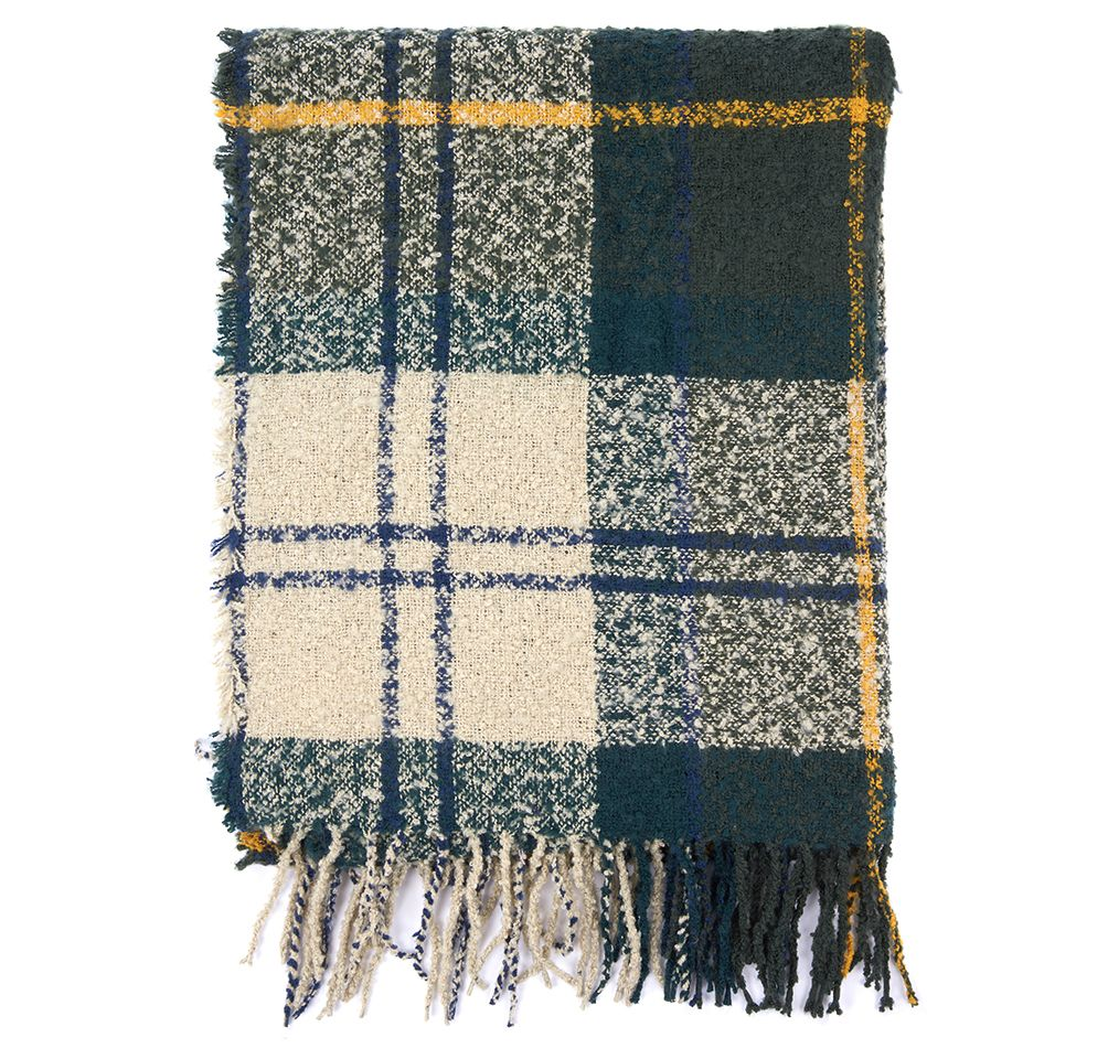 barbour bounce scarf classic jail dornoch