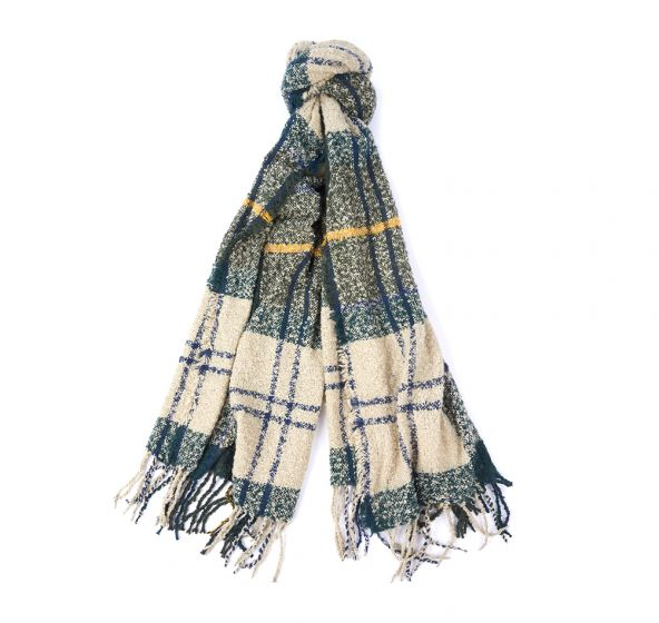 tartan bounce scarf barbour jail dornoch