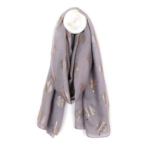grey with rose gold scarf jail dornoch