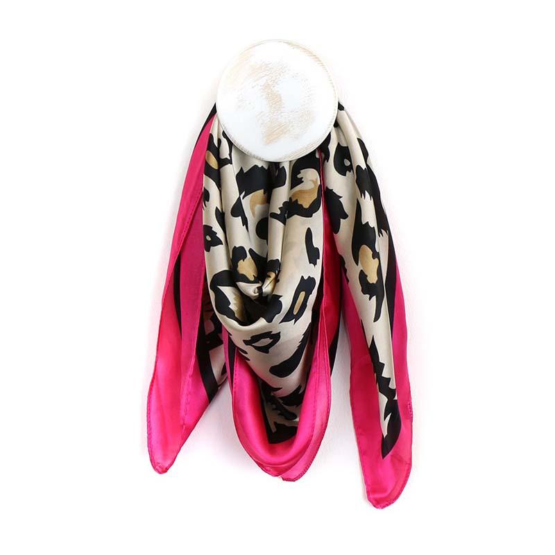 leopard print neck scarf jail dornoch