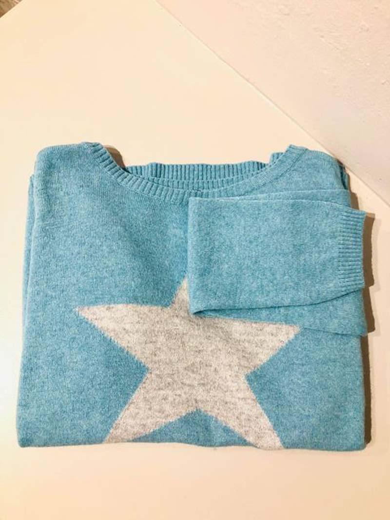 luella knitwear star jumper