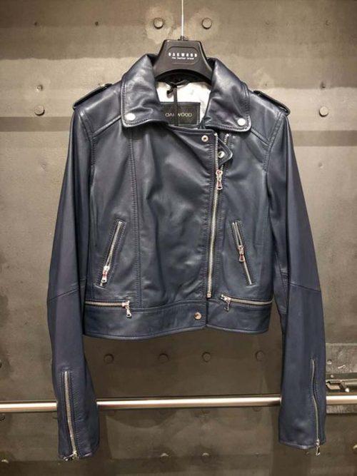 ladies nay leather jacket jail dornoch