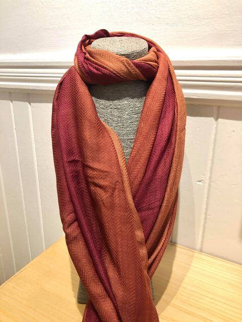 OMBRE COLOUR TONE SCARF JAIL DORNOCH