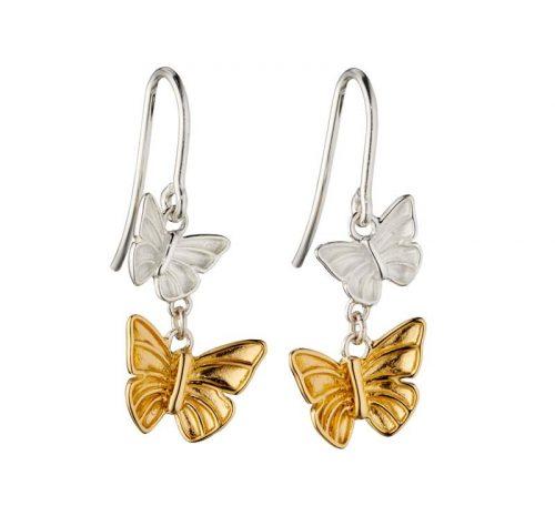 butterflies drop earrings jail dornoch