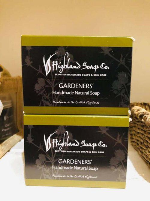 gardeners soap hihgland soap company jail dornoch