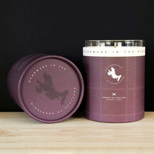heather and wild berries candle jail dornoch