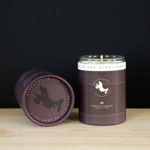 heather and wild berry mini candle