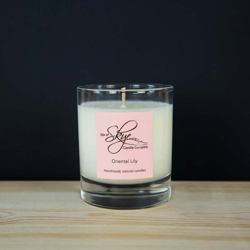 oriental lilly small tumbler candle jail dornoch