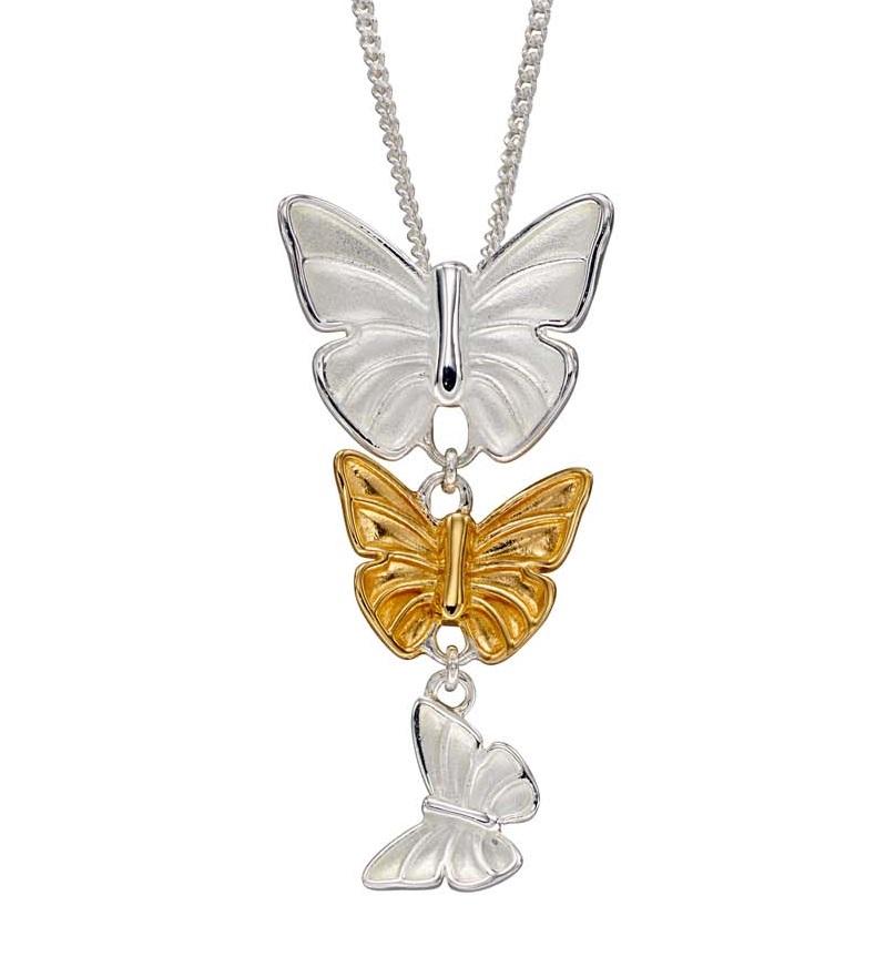 gold silver butterflies jail dornoch jewellery