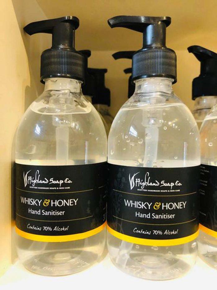 Whisky and honey sanitiser jail dornoch