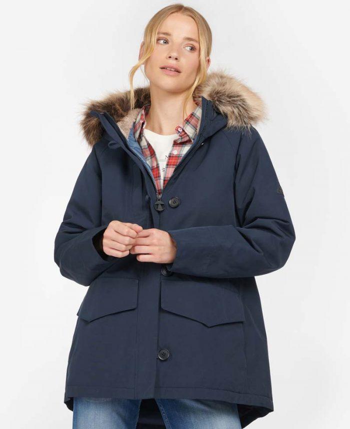 ladies barbour wark jacket jail dornoch