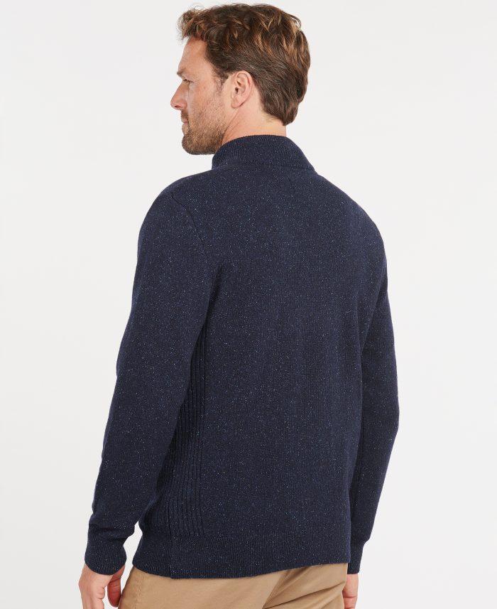 tisbury half zip sweater jumper barbour jail dornoch