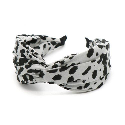 dalmation print headband jail dornoch