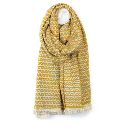 scandi style mustard scarf jail dornoch