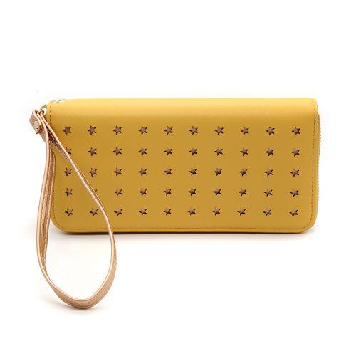 long zip purse mustard jail dornoch
