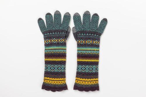 eribe alpine gloves jade colour jail dornoch
